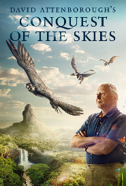 David Attenborough's Conquest of the Skies poster