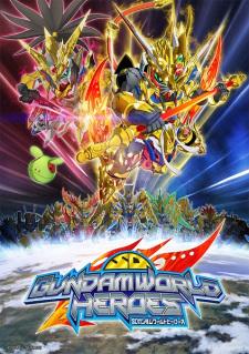 SD Gundam World Heroes poster