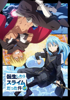 Tensei shitara Slime Datta Ken 2nd Season Part 2 poster